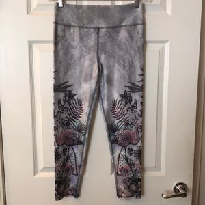 Flamingo active/work out leggings